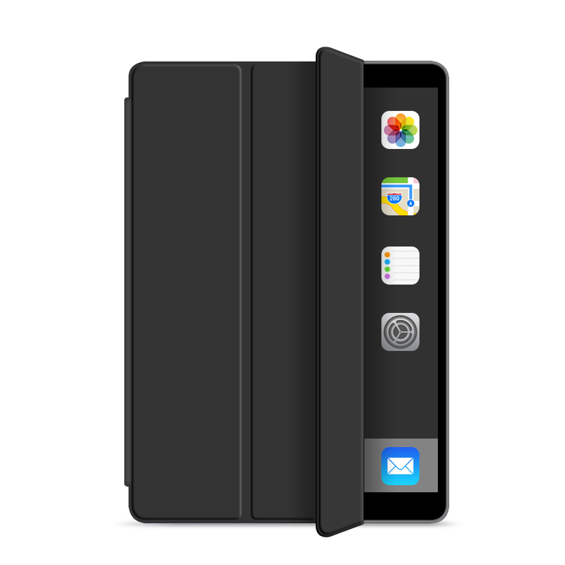 10.5 inch Tri-fold Soft Shell Silicone Cover Case for ipad Air 10.5