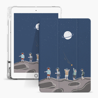Transparent TPU Pencil Cartoon Kids Custom Case for Apple iPad Mini 5 Cover