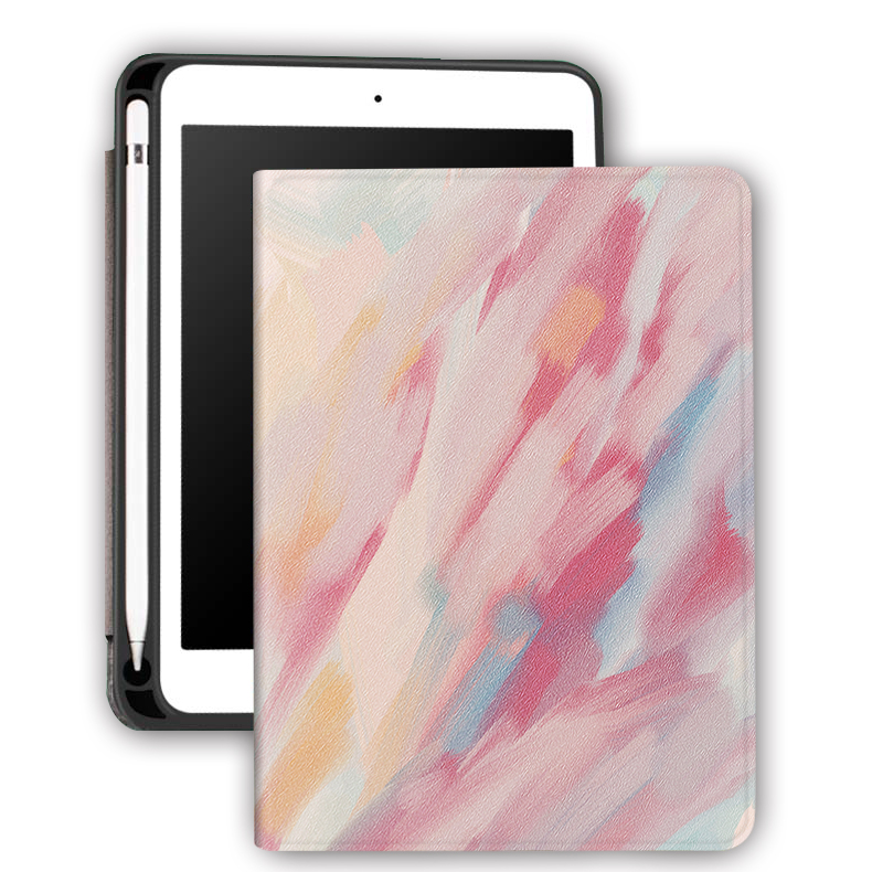 OEM/ODM Customize Cartoon Pencil Holder Case for Apple iPad Pro Air 10.5 Premium Shockproof Case