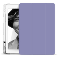 Transparent Pencil Case Soft TPU For Apple ipad 10.2 2020