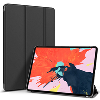 New Hard Case With Transparent Back Cover For iPad Pro 12.9 2020