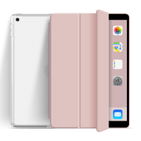 Trifold New Design Soft Transparent Back Cover For iPad Air 4 10.9 Case