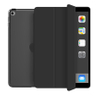 Trifold Hard PC With Transparent Back Tablet Case For iPad 9.7 2017 2018
