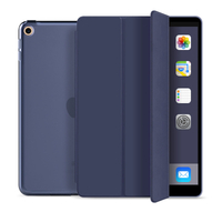 Tri Fold PC TPU Back Cover Case for ipad mini5